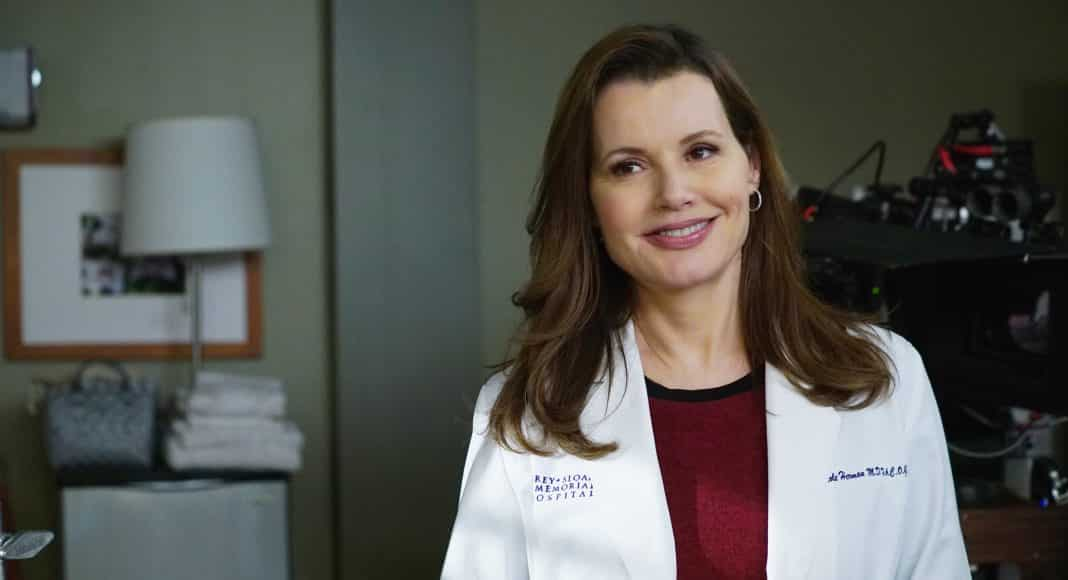 Grey's Anatomy Geena Davis Cinematographe