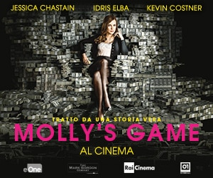 Molly's Game - dal 19 aprile al cinema