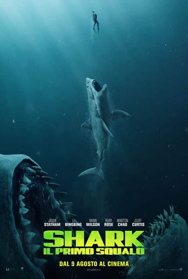 Shark Il primo squalo poster, cinematographe.it