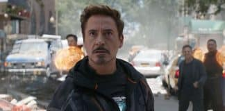 Avengers: Infinity War Robert Downey Jr. Cinematographe