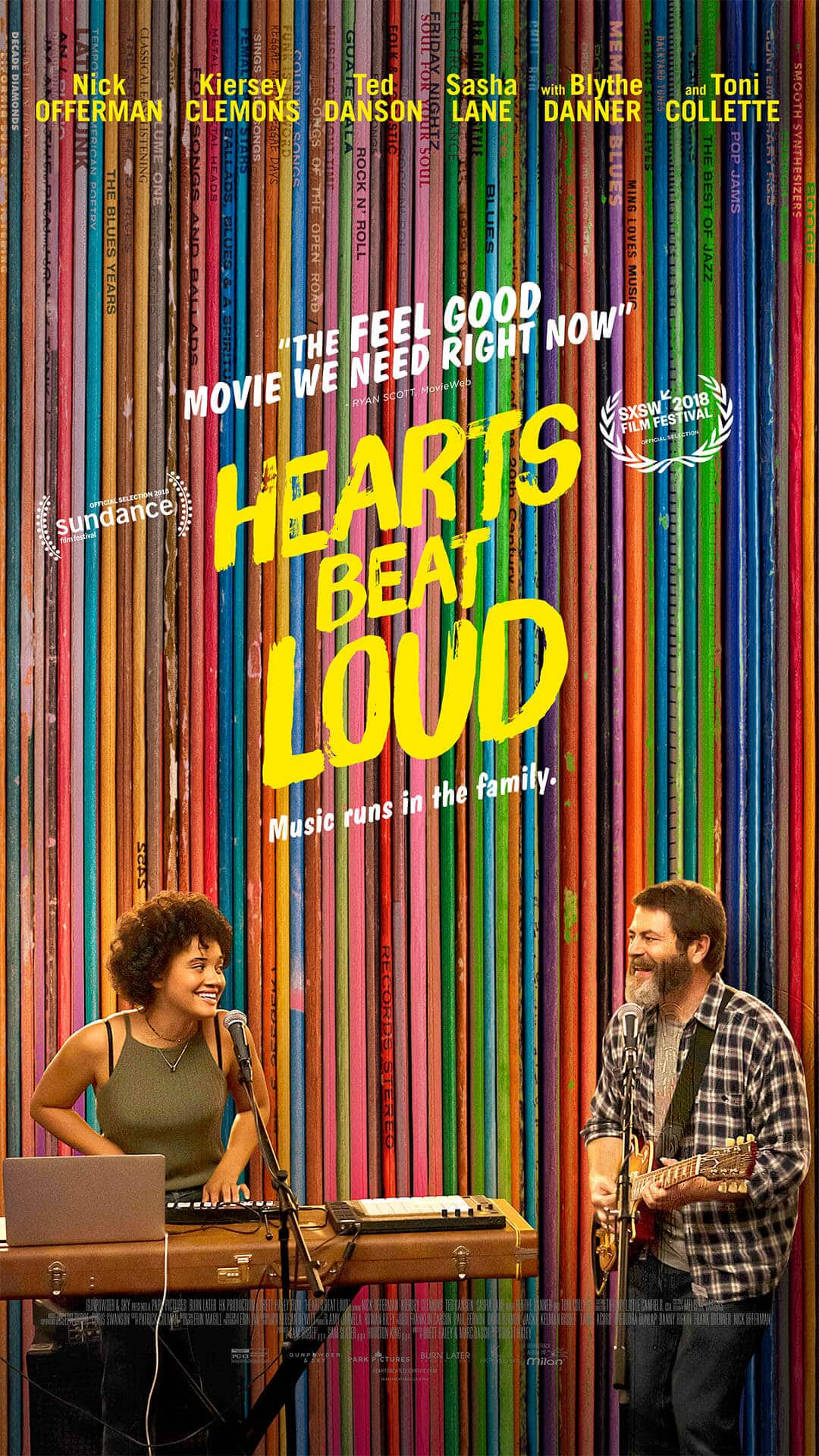 hearts beat loud, cinematographe