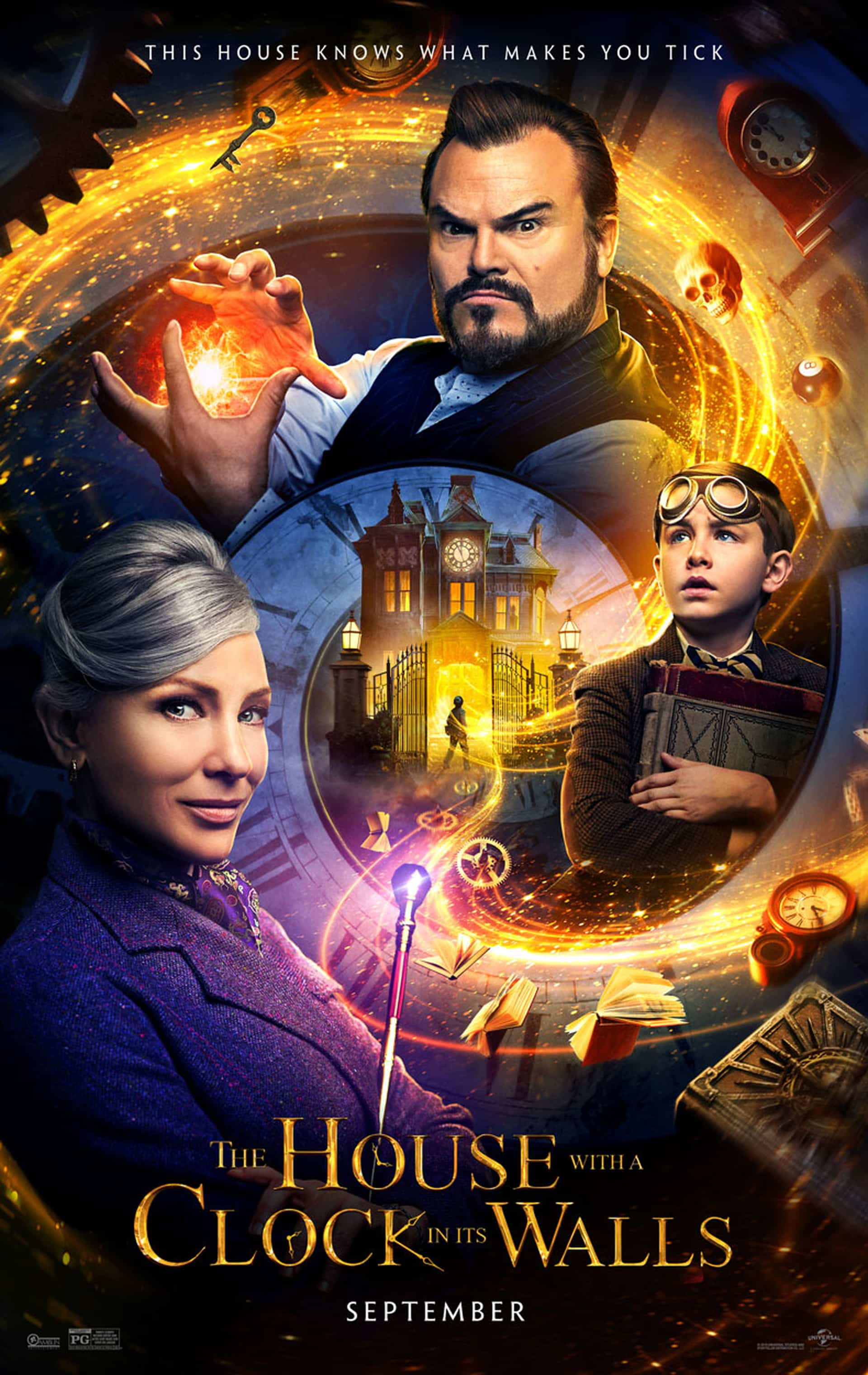 The House With A Clock In It's Walls poster, Cinematographe.it
