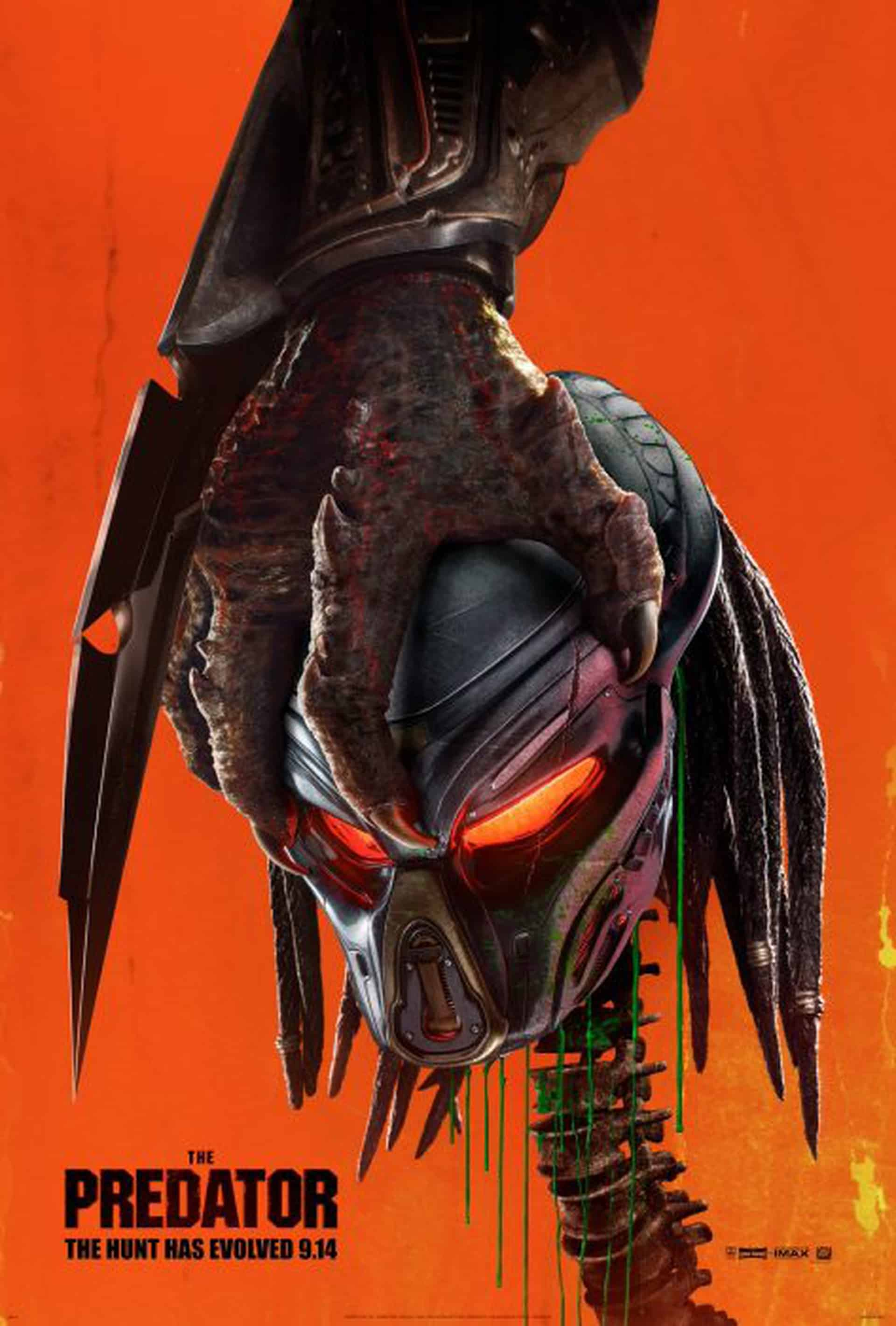 The Predator poster, Cinematographe.it