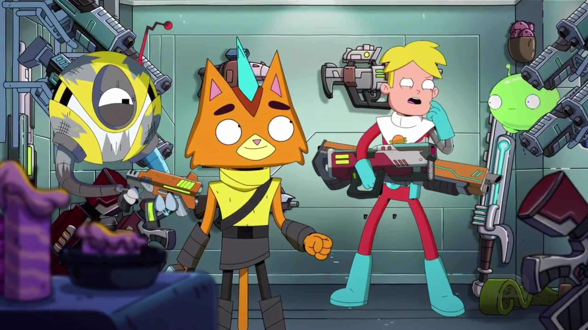 recensione final space di onironautaidiosincratico.blogspot.it