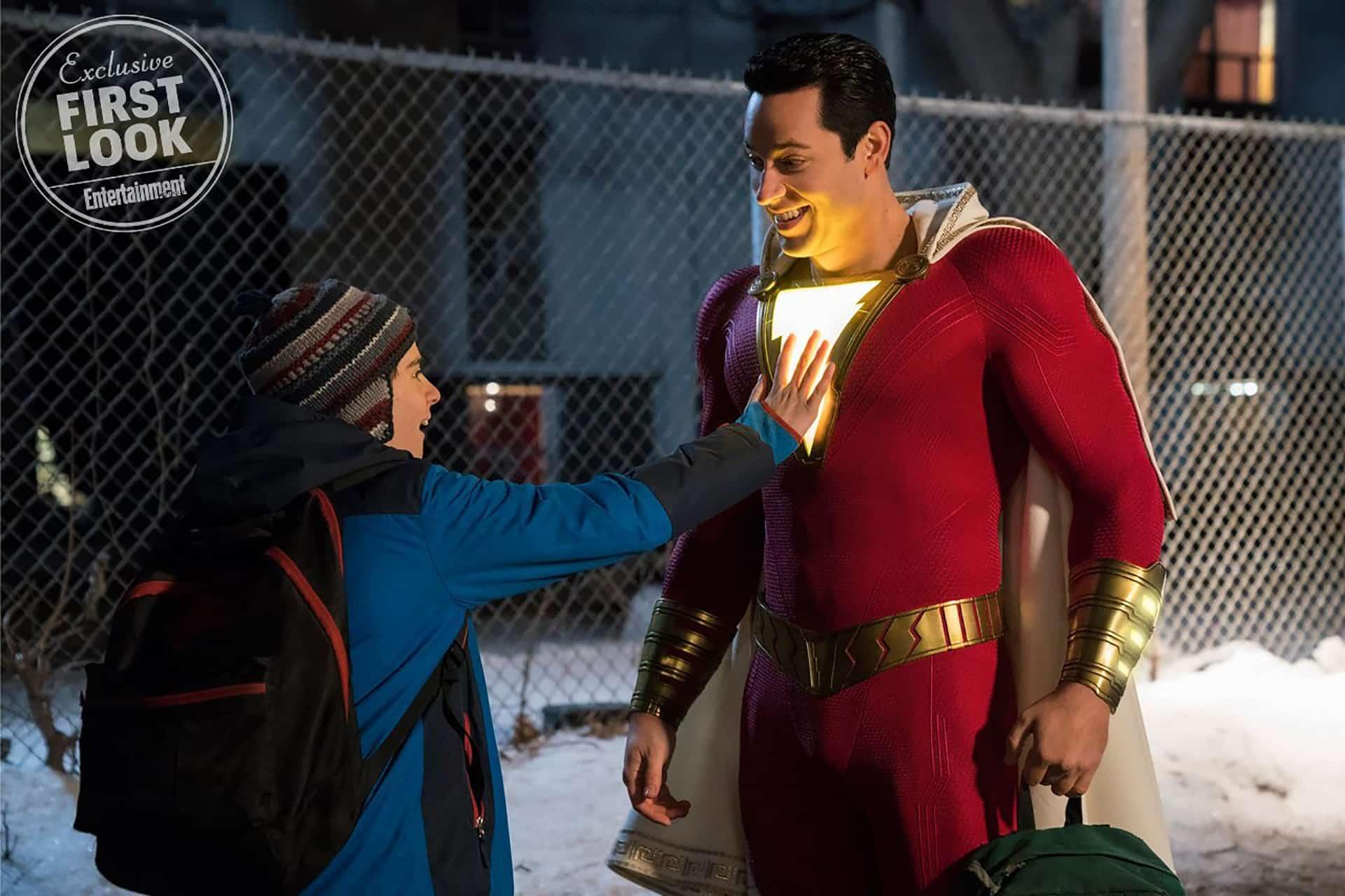 Shazam! salva il mondo nel nuovo spot tv