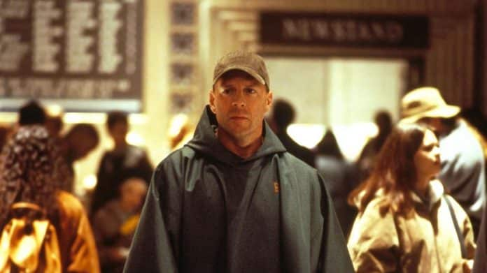 Glass: scena Bruce Willis Unbrakable