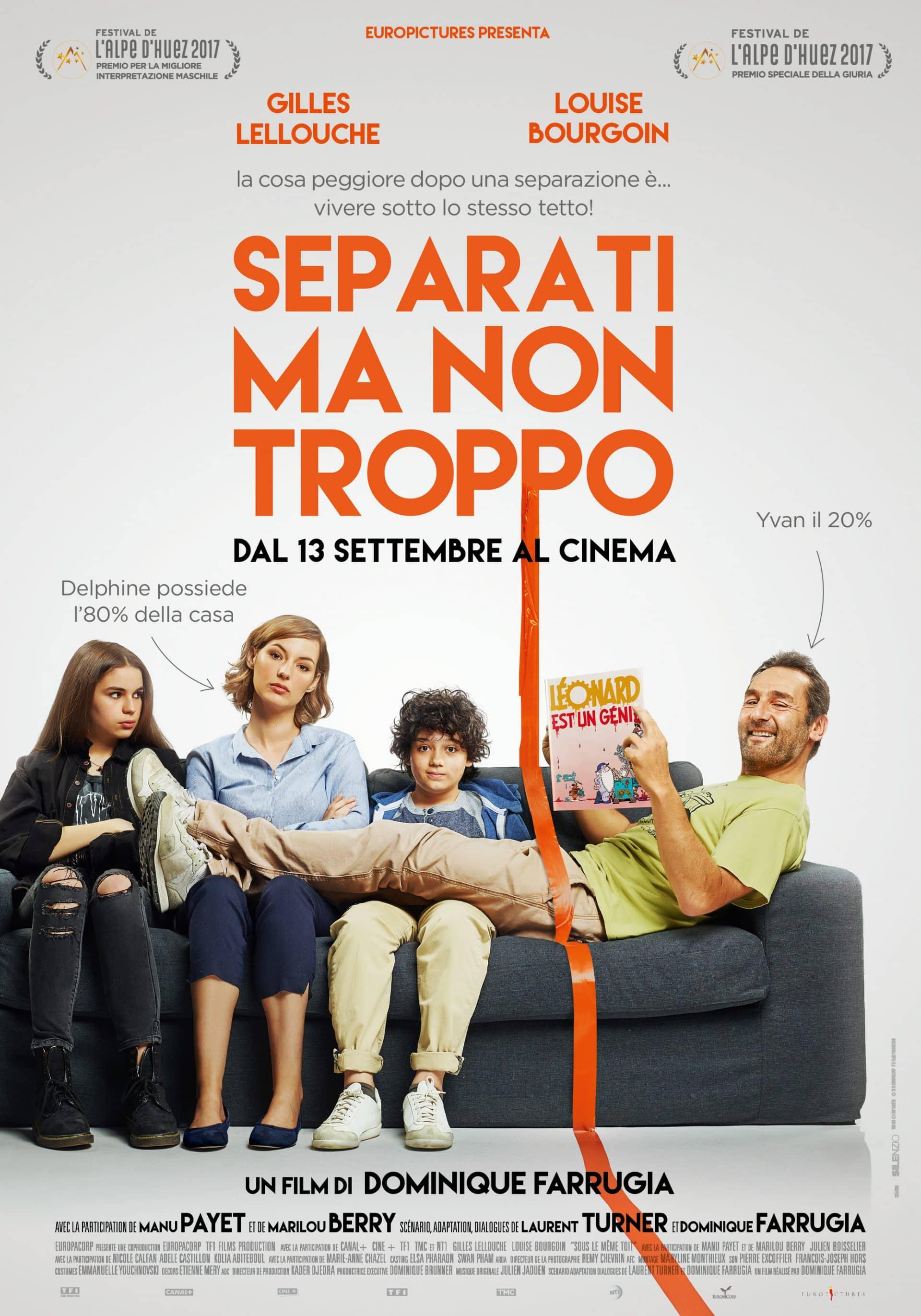 Separati ma non troppo poster Cinematographe.it