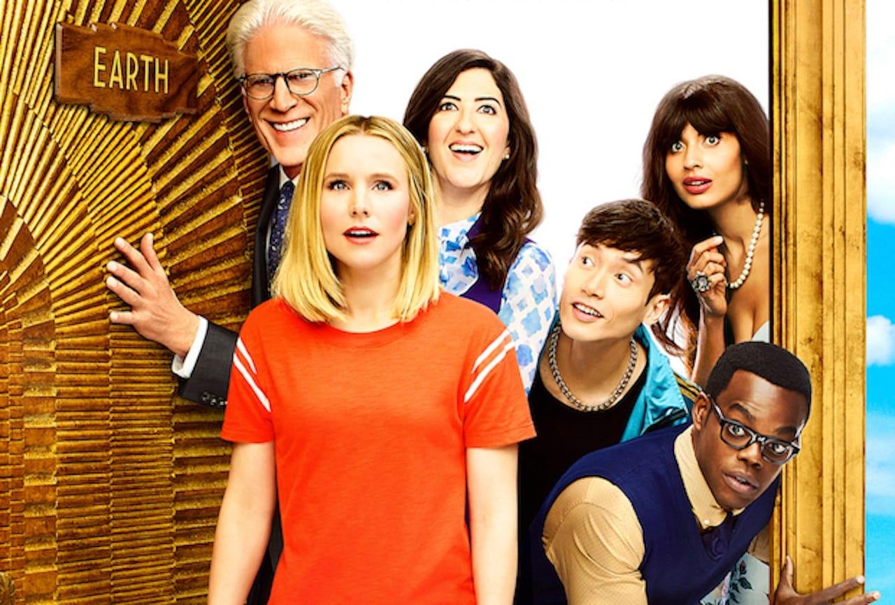 The Good Place - Stagione 3: Eleanor & company nel poster della serie