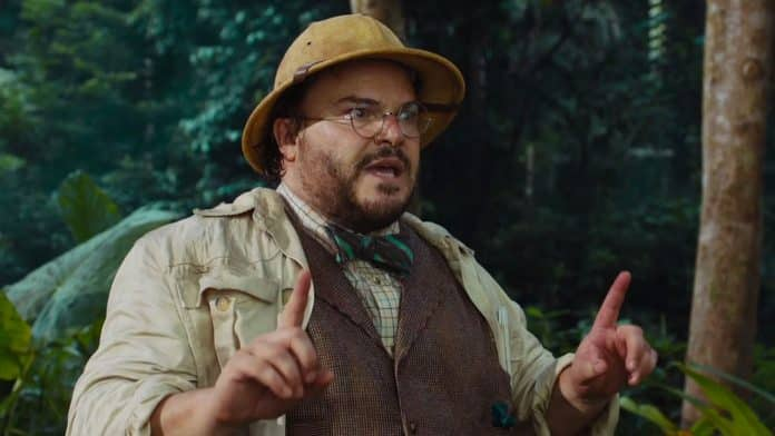 Jack Black Jumanji, Cinematographe.it