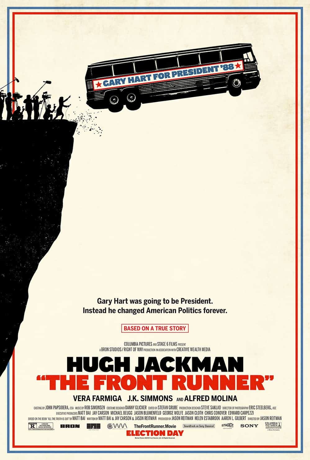 The Front Runner poster, cinematographe.it