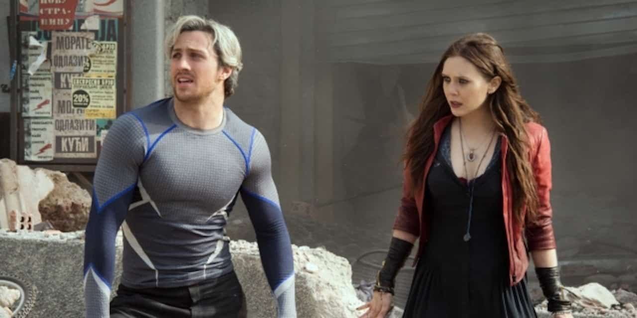 Avengers: Age of Ultron: un foto mostra i gemelli Maximoff insieme