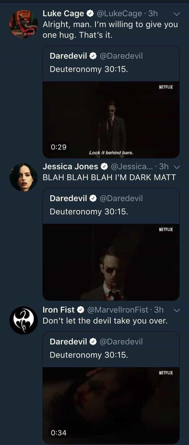 Daredevil Cinematographe