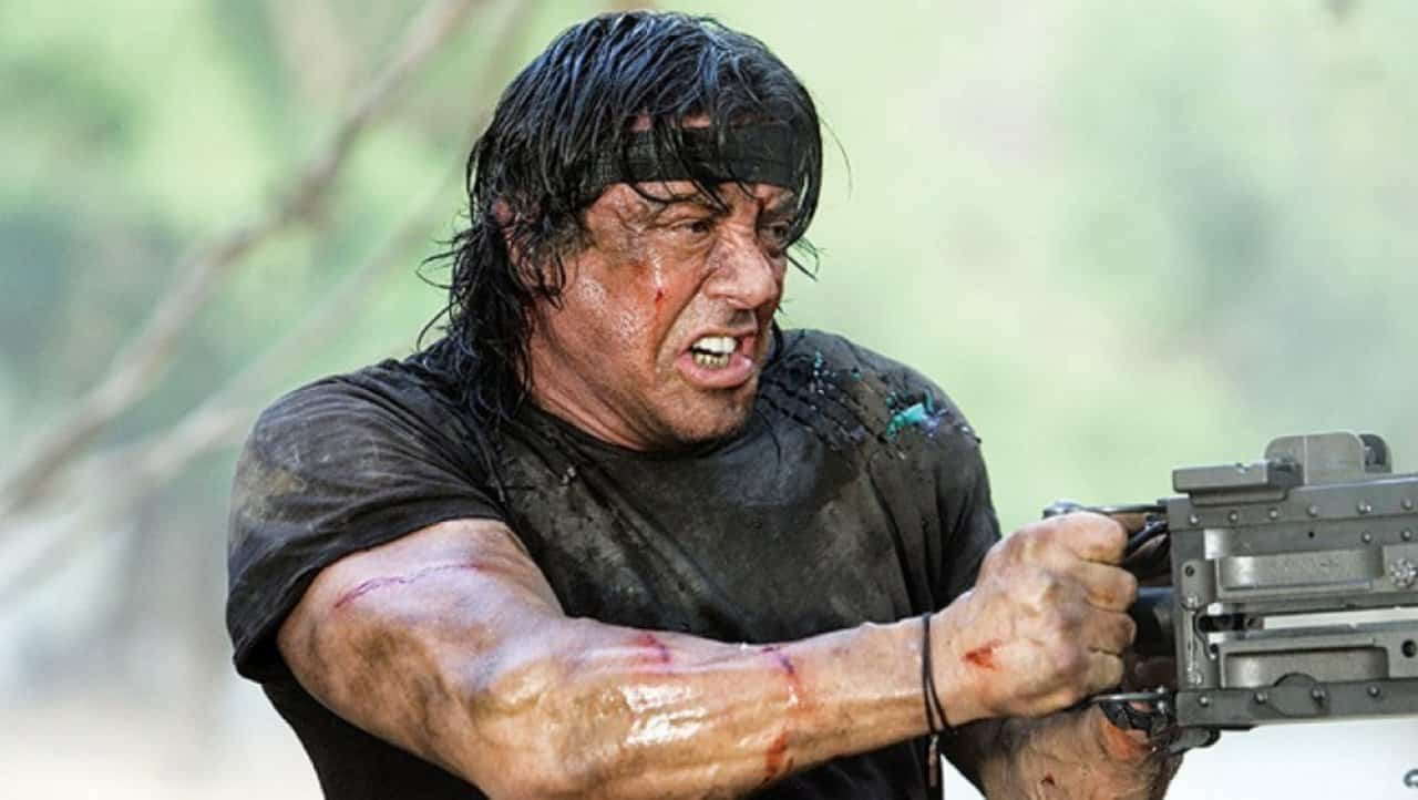 John Rambo, una scena del film