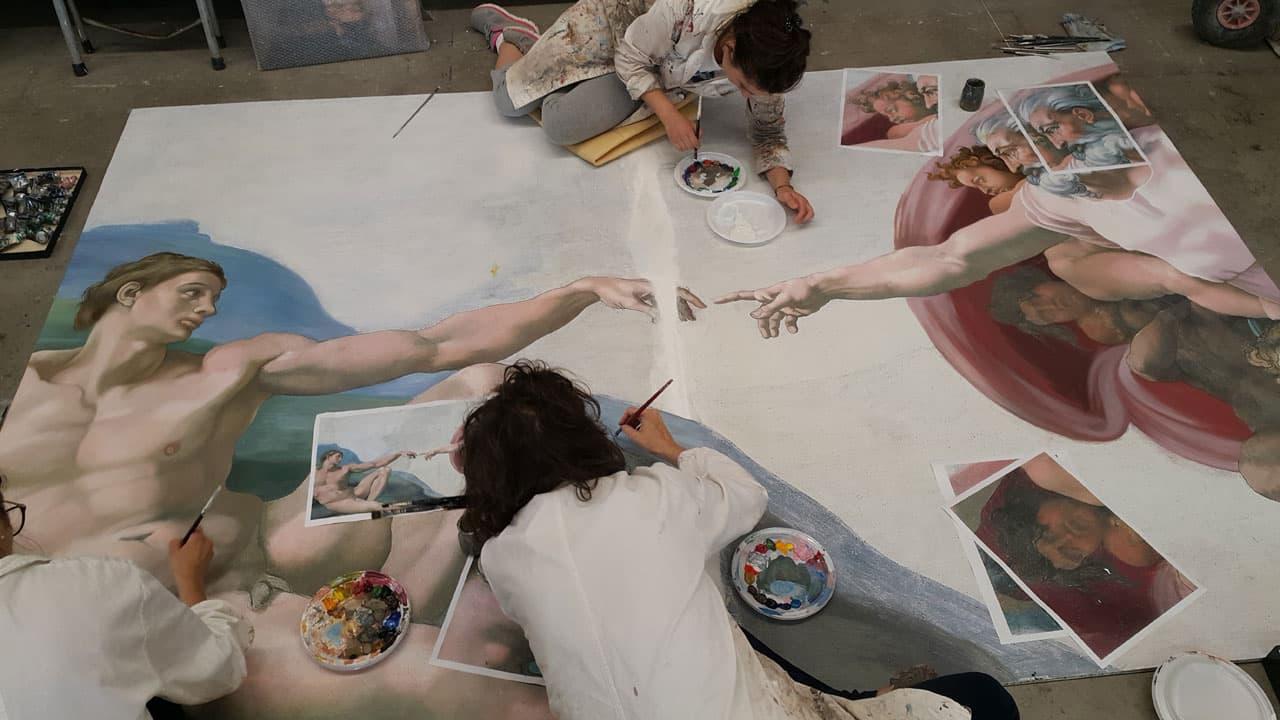 Michelangelo - infinito cinematographe.it