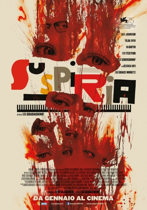 Suspiria poster Cinematographe.it