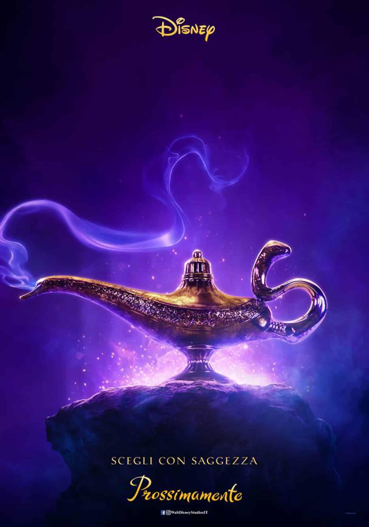 Aladdin poster, cinematographe.it