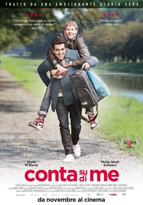 Conta su di me poster Cinematographe.it