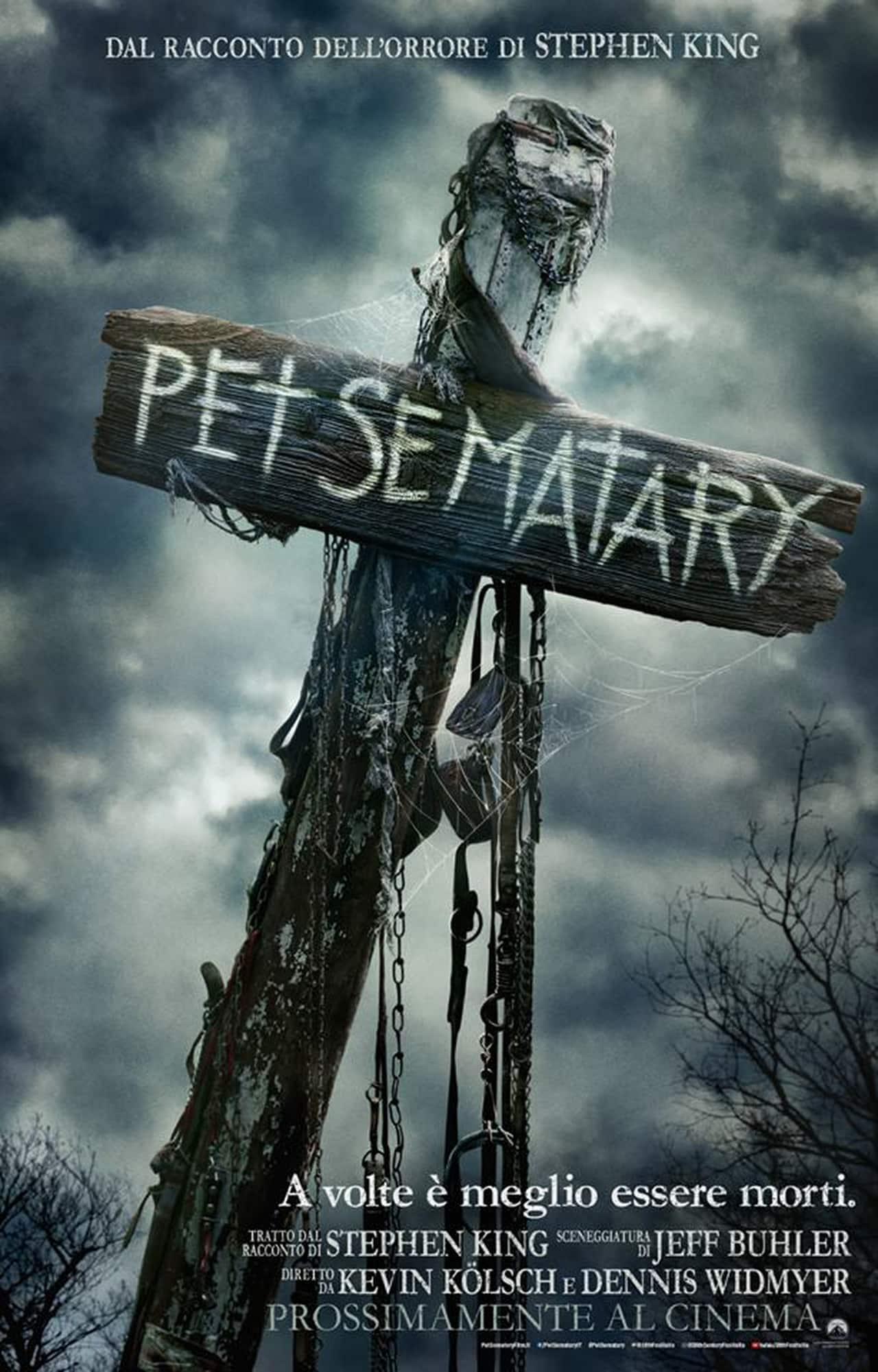 Pe Sematary 2019 poster ita, cinematographe.it
