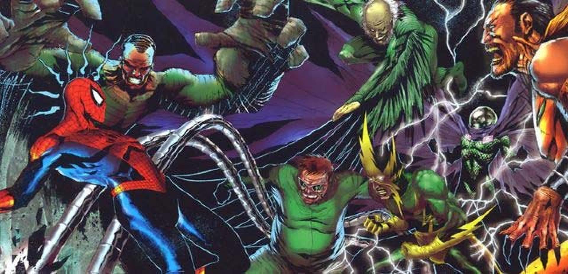 Spider-Man: un fan poster coi Sinistri Sei fa salire l'hype sul web