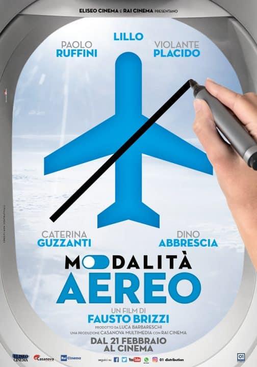 Modalità aereo poster Cinematographe.it
