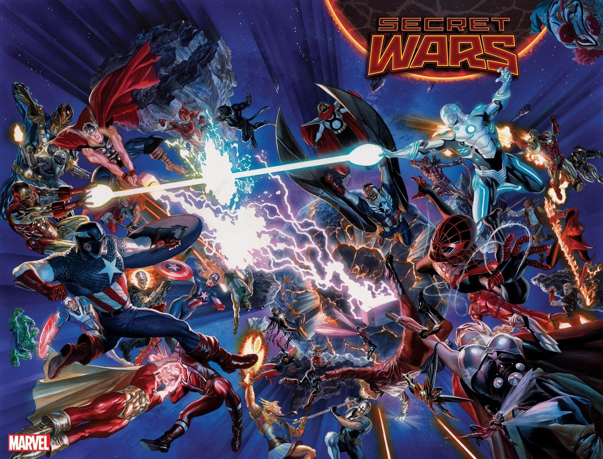 Secret Wars: i Russo salutano la Marvel finché non verrà approvato ...