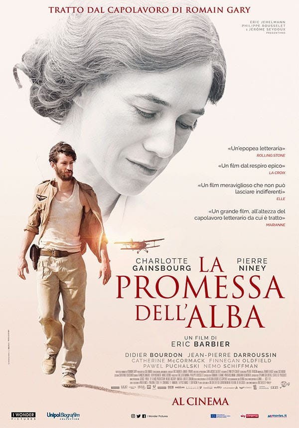 La promessa dell'alba poster Cinematographe.it