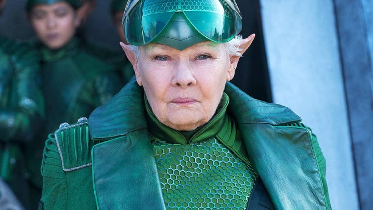 Artemis Fowl: primo sguardo al Comandante Root di Judi Dench