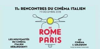 De Rome à Paris 2018 Cinematographe.it