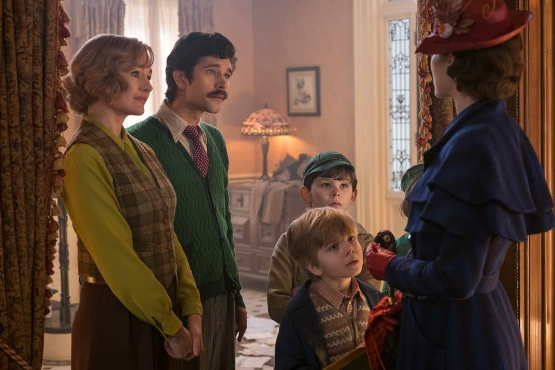 Mary Poppins casa Banks