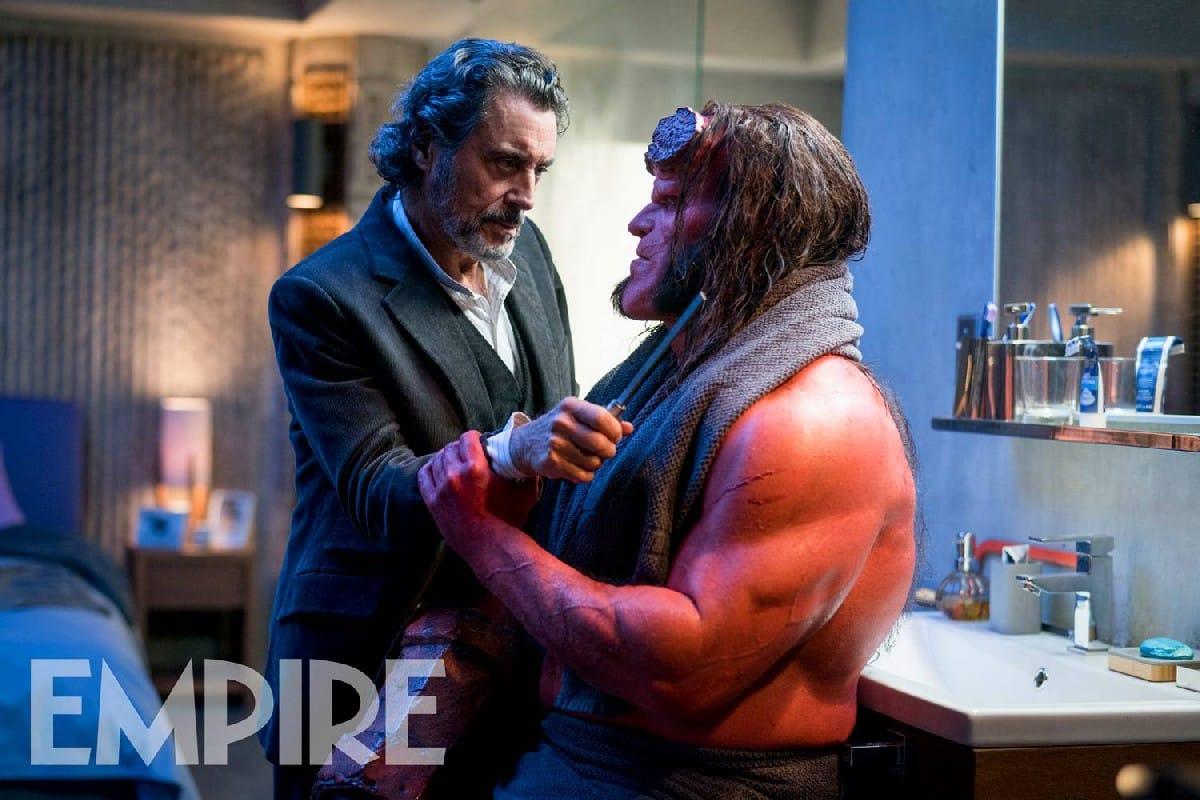 Hellboy rilasciate due nuove immagini del film - Arma letale scena bagno ...