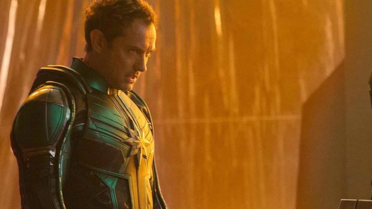 captain marvel, jude law, cinematographe.it