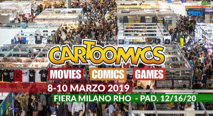Cartoomics 2019 Cinematographe.it
