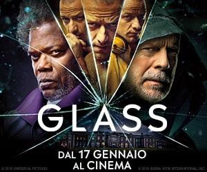 Glass - dal 17 gennaio al cinema