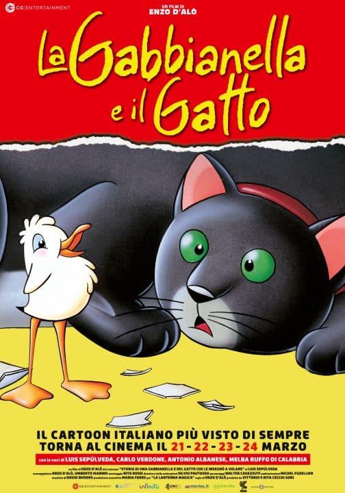 la gabbianella e il gatto cinamtographe.it