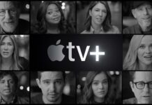 Apple TV plus logo, cinematographe.it