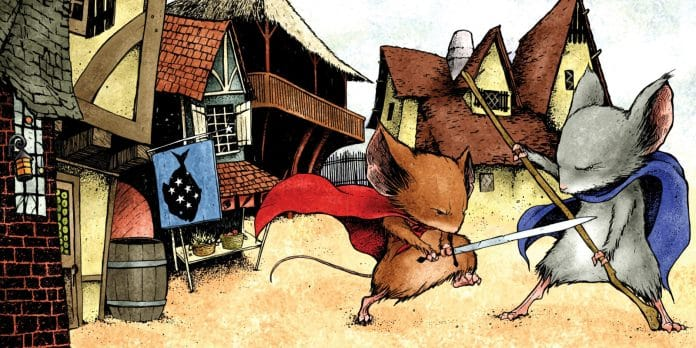 mouse guard- guardie d'onore cinematographe.it