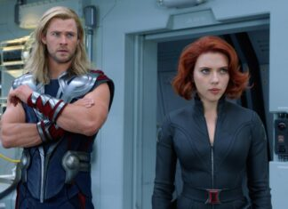 Chris Hemsworth and Scarlett Johansson cinematographe.it