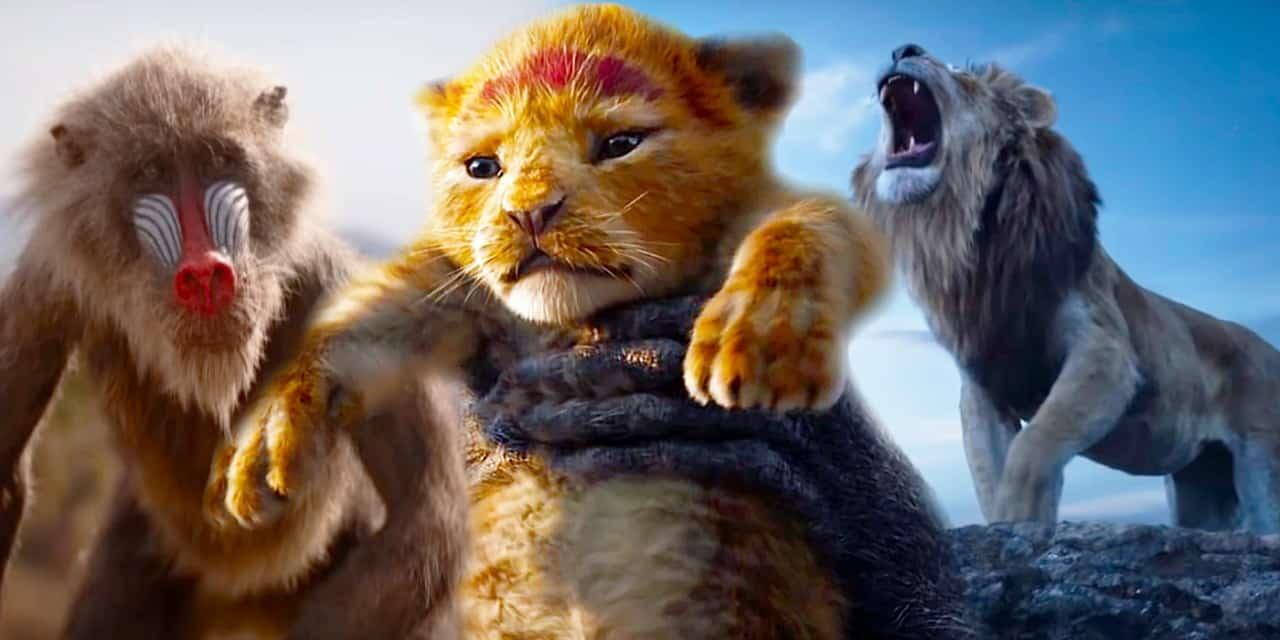 Il Re Leone Simba E Mufasa Nella Clip Del Cinemacon Ecco