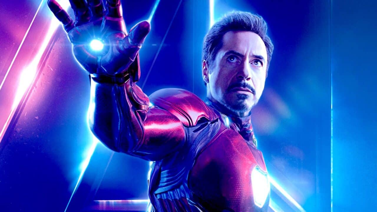 Iron Man - Robert Downey Jr. , cinematographe