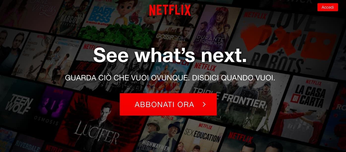 Prova Gratis Netflix