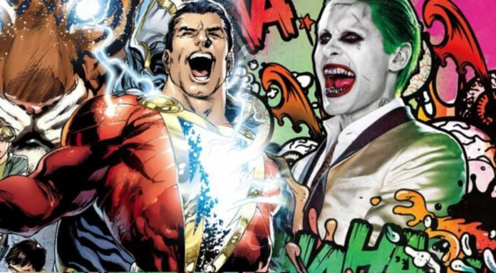 Shazam, Joker, Cinematographe
