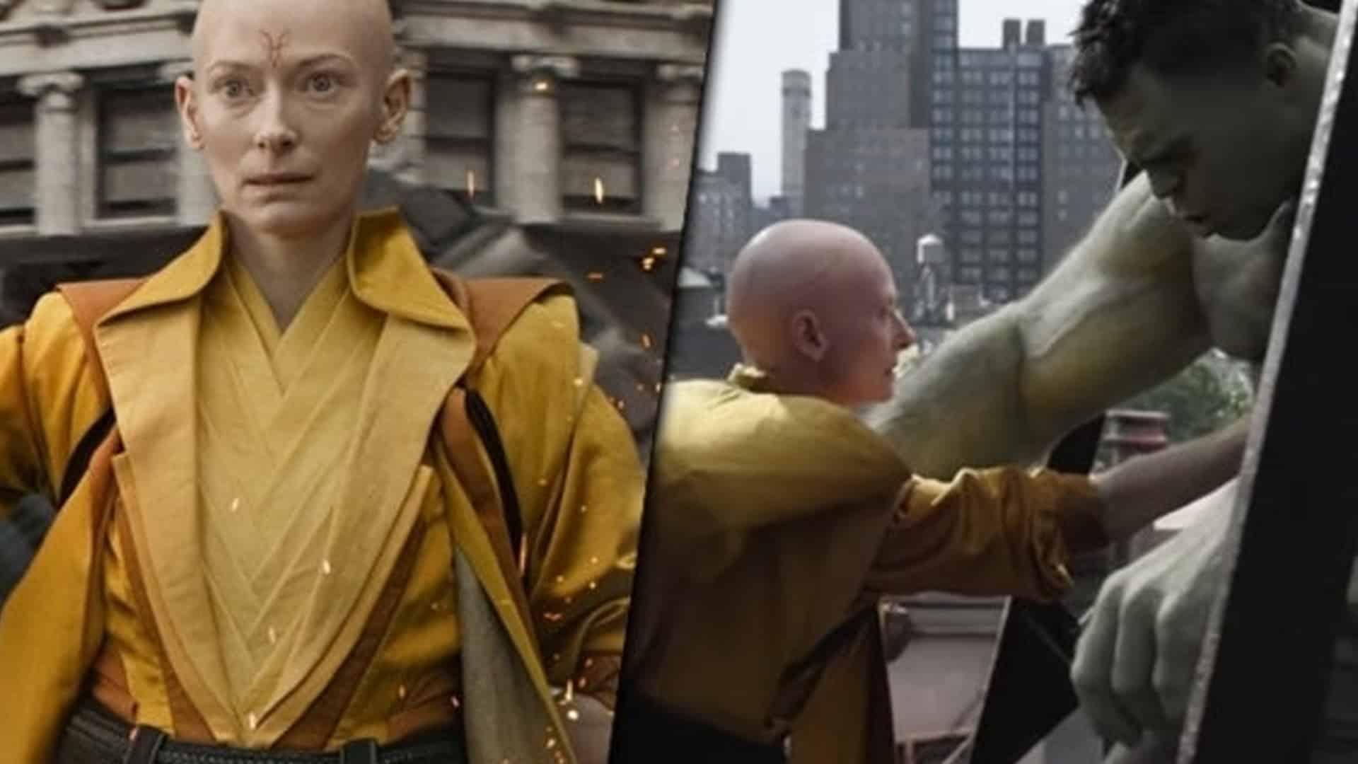 Avengers: Endgame – perché Tilda Swinton ha rigirato le sue scene?