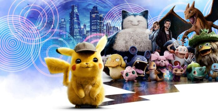weekend POKEMON Detective Pikachu