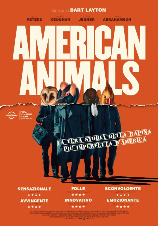 American Animals Cinematographe.it