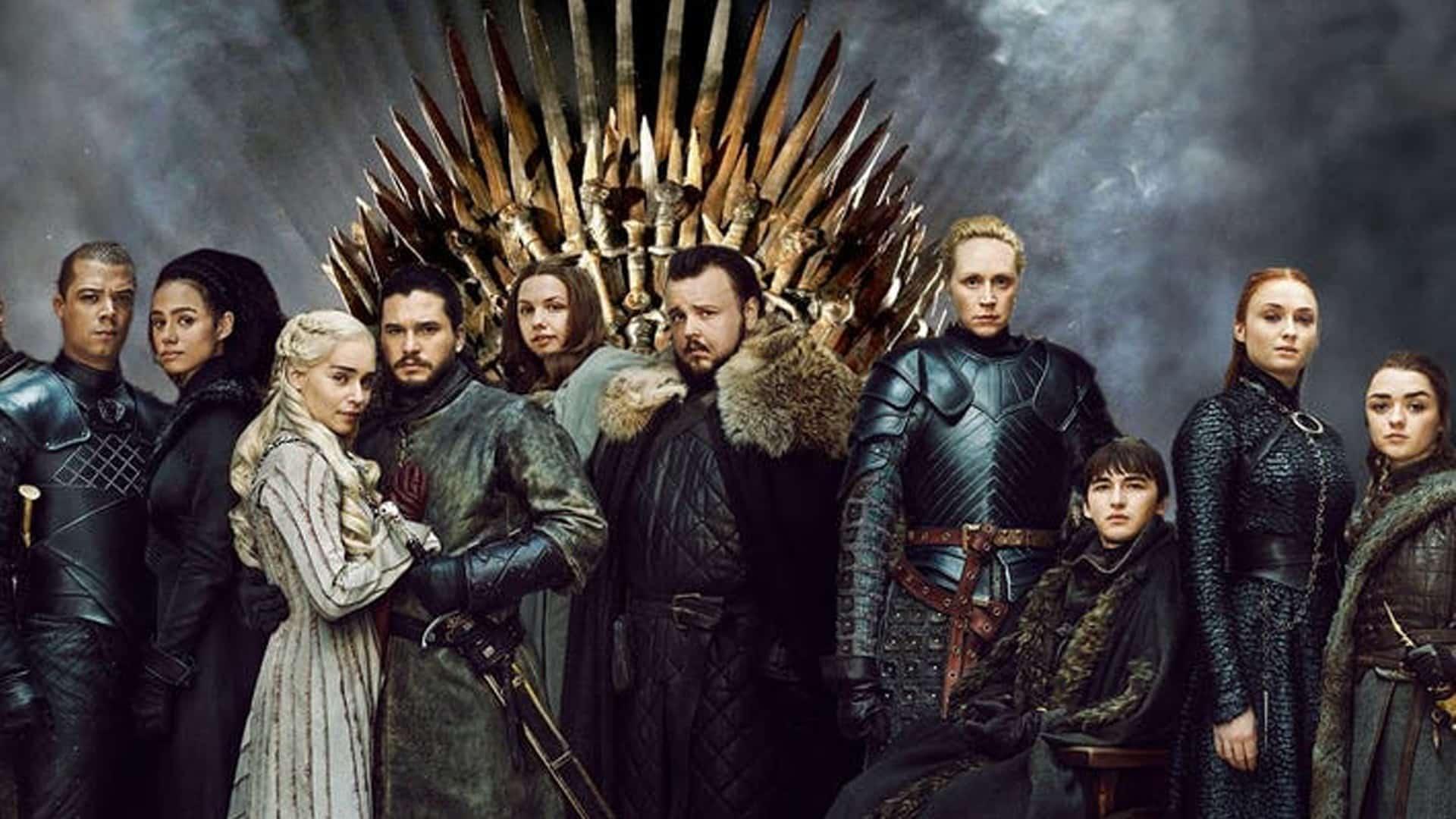 Il Trono di Spade HBO festeggia i 10 anni
