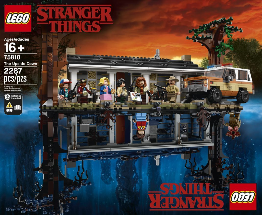 Calendario Stranger Things.Stranger Things Il Set Lego Vi Portera Direttamente Nel