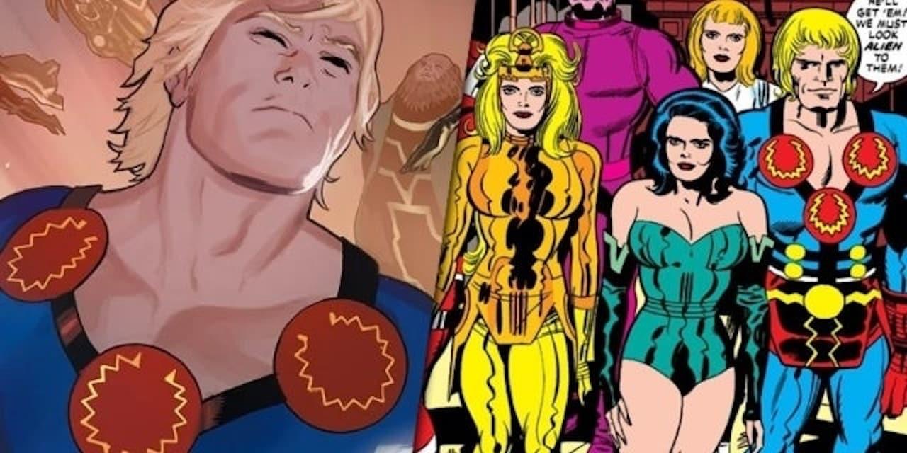 The Eternals: rivelato il titolo di lavorazione del film Marvel