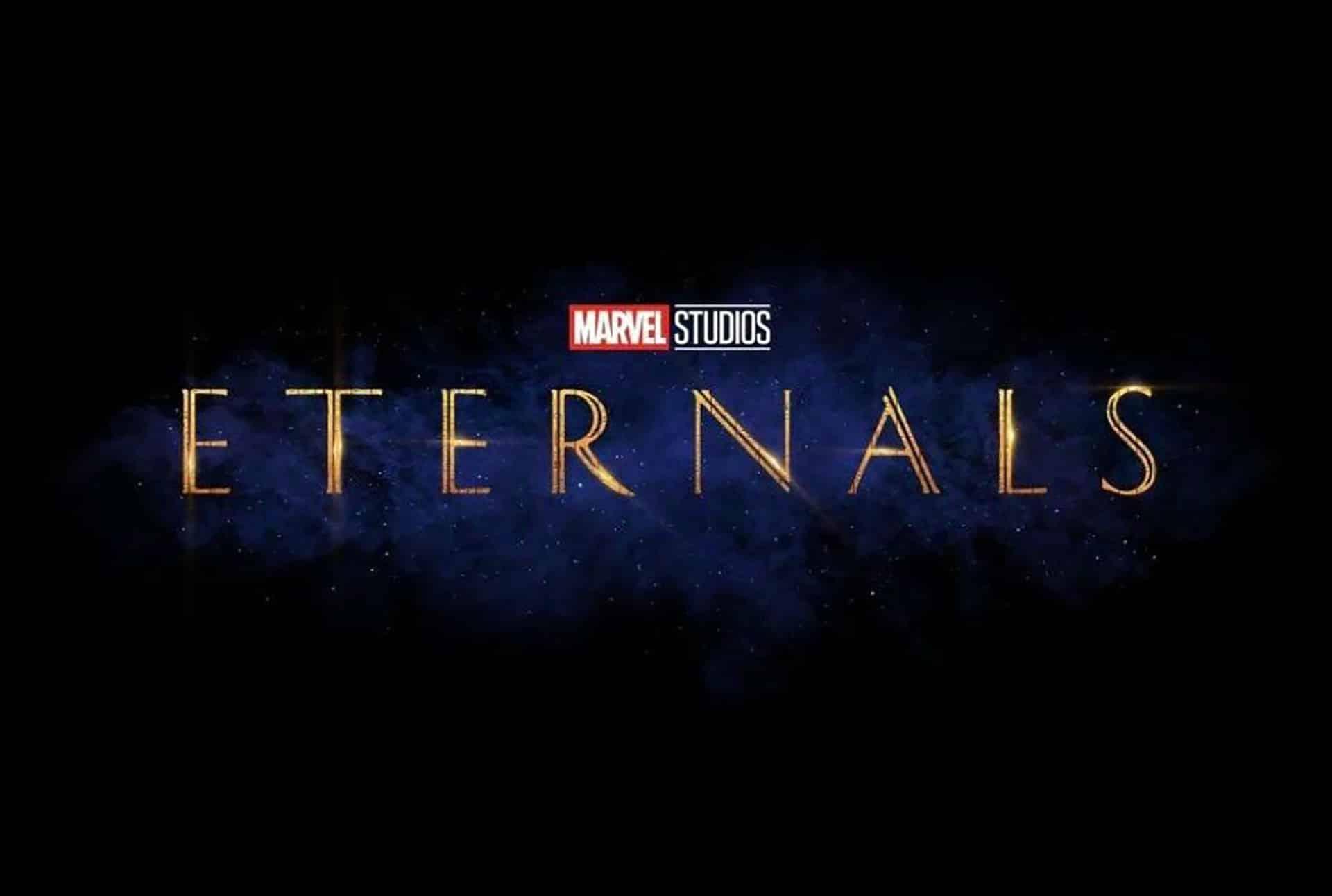 The Eternals: ecco il nuovo logo del film Marvel Cinematographe.it