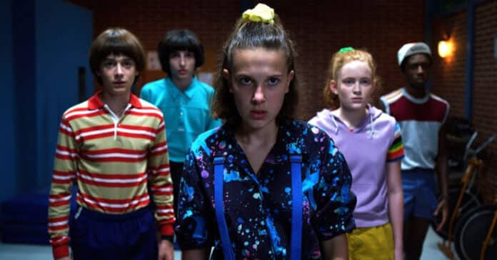 stranger things 3, cinematographe