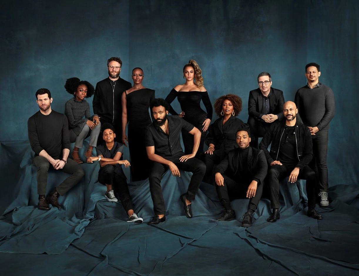 Il Re Leone: il cast vocale al completo nella foto ufficiale